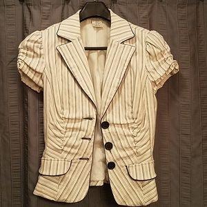 Adorable Short-Sleeved Blazer